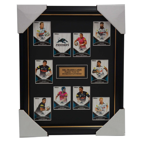 2016 Nrl Traders Cards Penrith Panthers Team Set Framed Moylan Soward Taylor - 2693