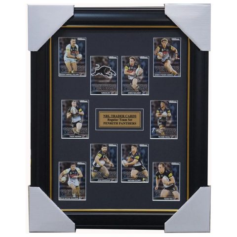 2019 Nrl Traders Cards Penrith Panthers Team Set Framed Maloney Kikau Merrin - 3630