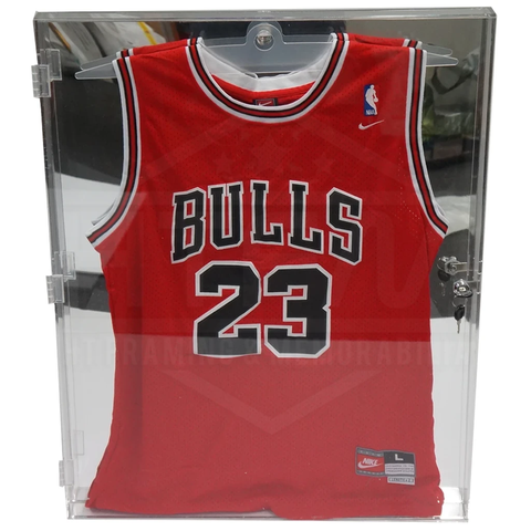 Deluxe Acrylic Nba Basketball Jersey Display Case Mirror Back Finish - Quality - 3695