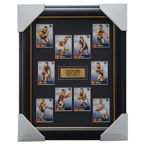 Adelaide Crows 2021 Select Card Team Set Framed Taylor Walker Rory Sloane - 4645
