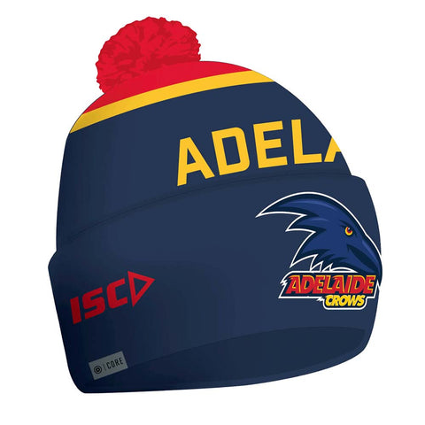 Adelaide Crows 2020 Afl Official Isc Adults Beanie Brand New - 4512