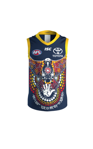Adelaide Crows 2020 Indigenous Guernsey Mens Afl Large Xl & 2xl Brand New - 4506
