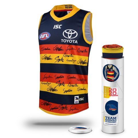 Adelaide Football Club 2020 AFL Official Team Signed Guernsey - 4130