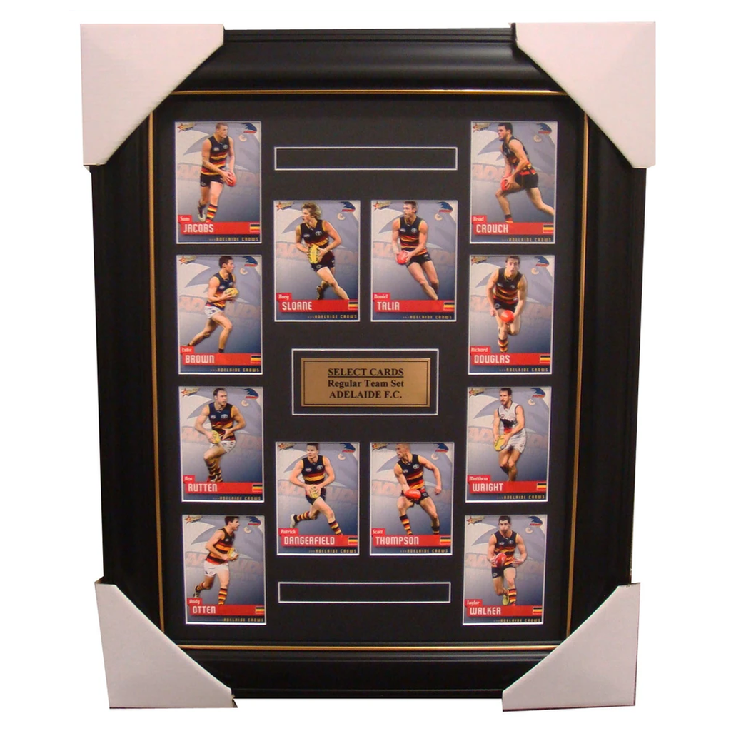 Adelaide 2014 Limited Edition Select Cards Set Framed - Dangerfield, Sloane - 1702