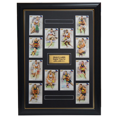 Adelaide Crows 2019 Select Card Team Set Framed Taylor Walker Rory Sloane Betts - 3517