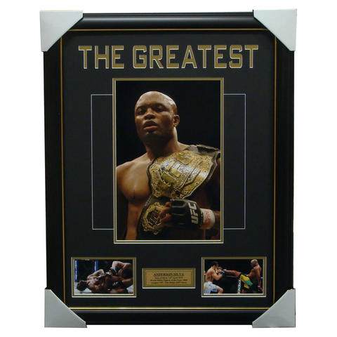 Anderson Silva UFC Fighter Collage Framed - 1431