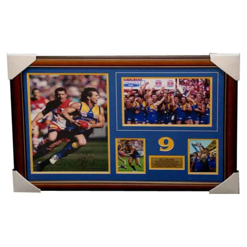 Ben Cousins West Coast Eagles 2006 Premiers Photo Collage Framed - 4004