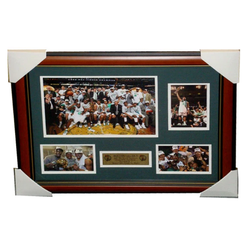Boston Celtics 2008 NBA Champions Collage Framed - 3213