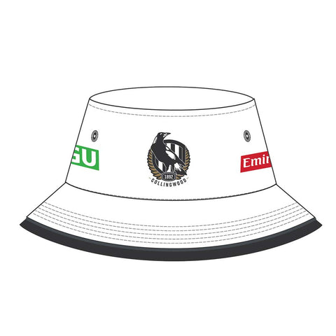Collingwood 2020 Afl Official Isc Bucket Hat Brand New - 4519
