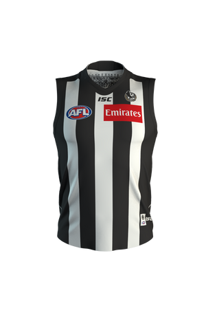 Collingwood 2020 Home Guernsey Mens Official AFL ISC Medium - 2XL Brand New - 4514