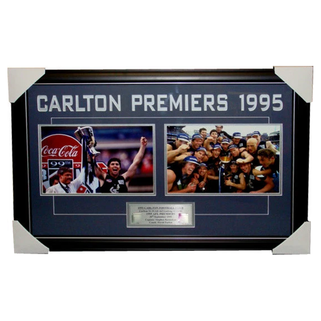 Carlton 1995 Premiers Photo Collage Framed - 3173