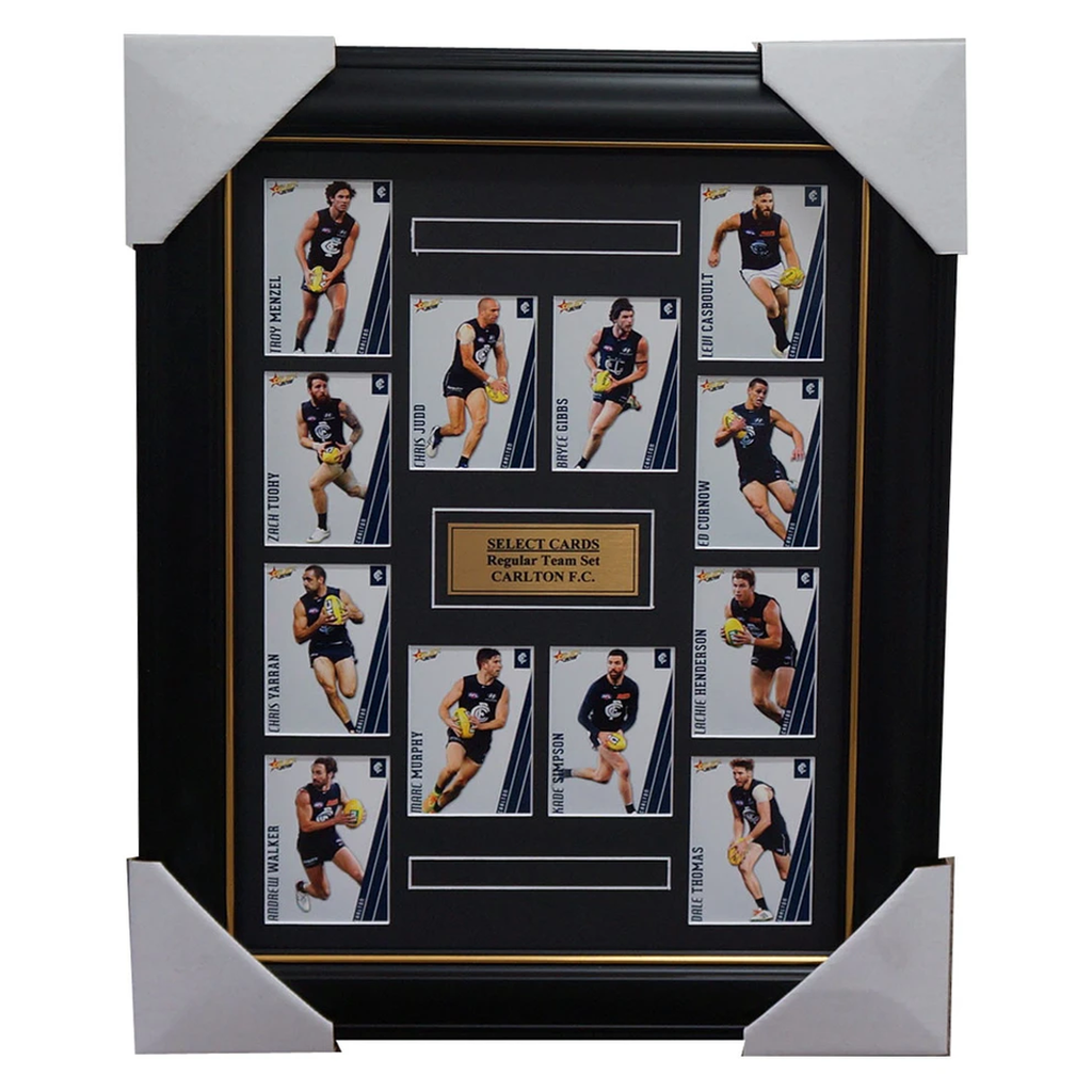 Carlton 2015 Select Card Team Set Framed Marc Murphy Chris Judd Gibbs Thomas - 1018