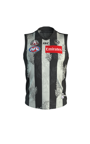 Collingwood 2020 Anzac Home Guernsey Mens AFL ISC Medium - 2XL Brand New - 4515
