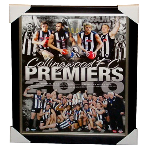 Collingwood 2010 L/E Official Licensed Print Framed - 3797