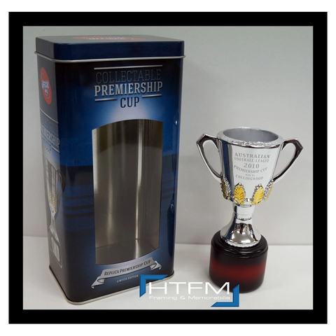 Collingwood 2010 Premiers Afl Official Premiership Replica Cup in Collectors Tin - 1800
