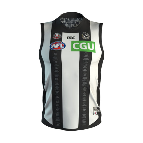 Collingwood 2019 Anzac Home Guernsey Mens AFL ISC XL-3XL Brand New - 3763 ON SALE