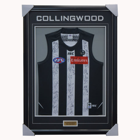 Collingwood Football Club 2020 AFL Official Team Signed Guernsey - 4133 LAST ONE