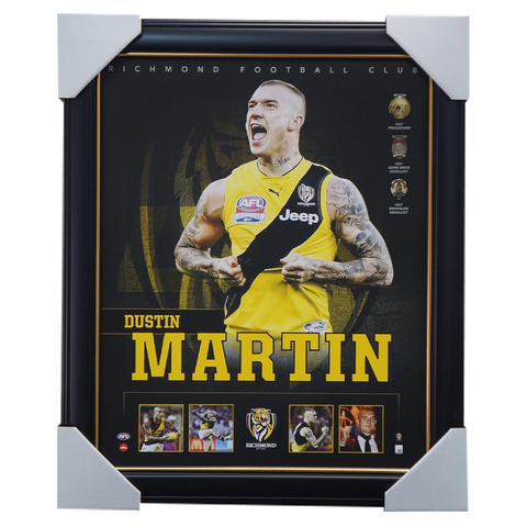 Dustin Martin 2017 Premiers Richmond F.C. Official Licensed AFL Print Framed NEW - 3686