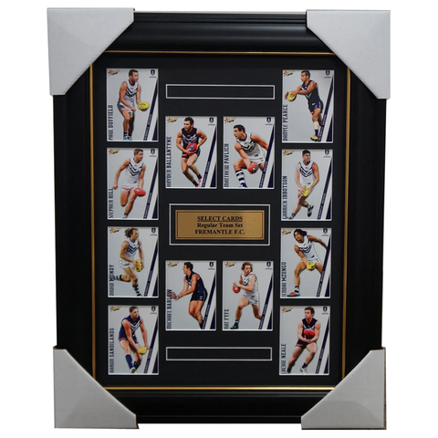 Fremantle Dockers 2015 Select Card Team Set Framed Pavlich Nat Fyfe Ballantyne - 1011