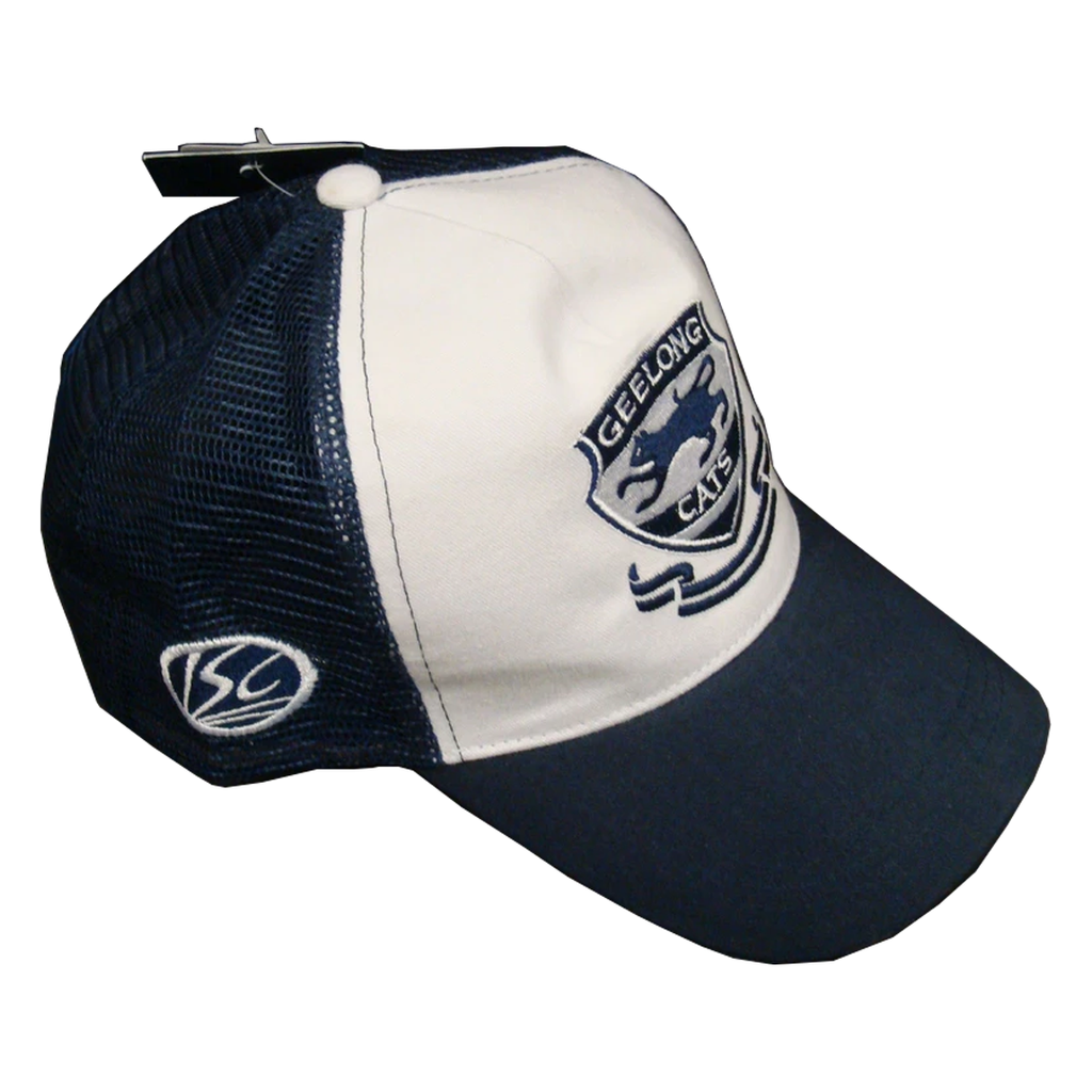 Geelong Official ISC White Truckers Hat Brand New with Tags - 1277