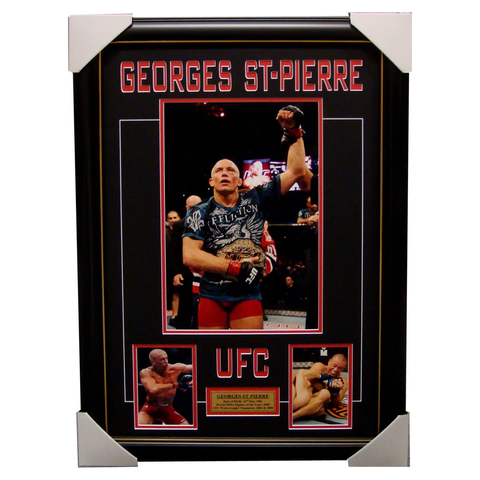 Georges St-Pierre UFC Photo Collage Framed - 4108