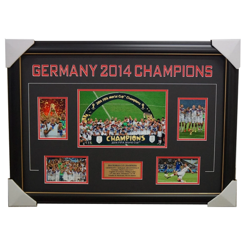 Germany 2014 World Cup Champions Photo Collage Framed - 1927