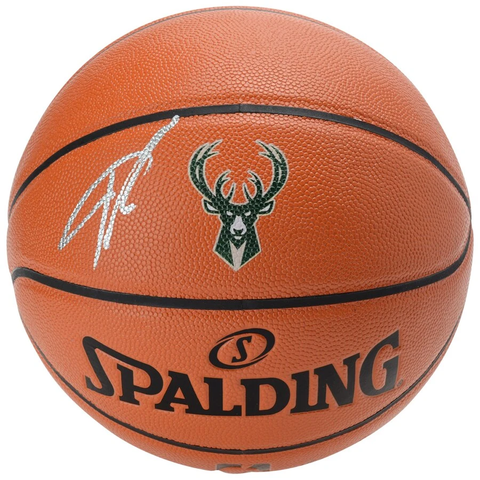Giannis Antetokounmpo Milwaukee Bucks  Signed Official NBA Basketball Fanatics - 3982
