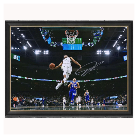 Giannis Antetokounmpo Milwaukee Bucks  Signed Official NBA Photo Framed Fanatics - 3983