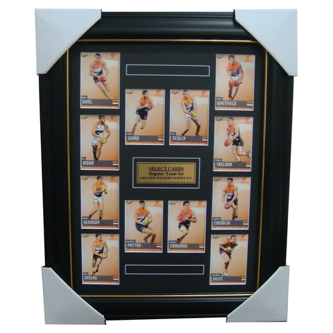 Greater Western Sydney 2014 Limited Edition Select Cards Set Framed Cameron - 1712