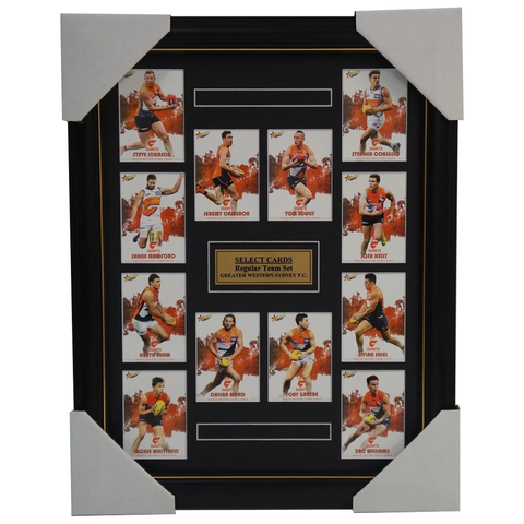 Greater Western Sydney 2017 Select Card Team Set Framed Cameron Ward Greene - 3064