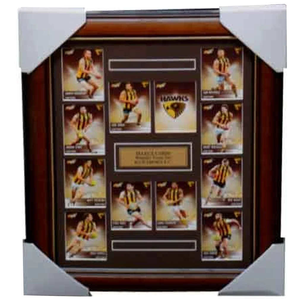 Hawthorn 2012 Select Cards Set Framed - 3972