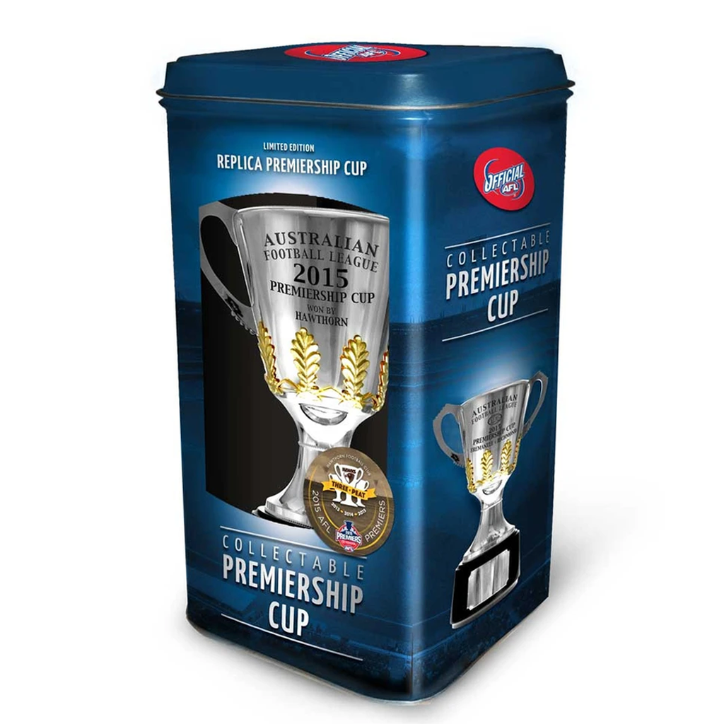 Hawthorn 2015 Premiers Afl Official Premiership Replica Cup Hodge Mitchell Rioli - 2570