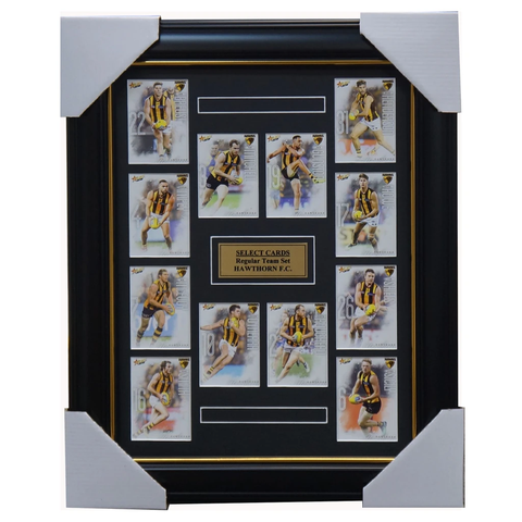 Hawthorn 2019 Select Card Team Set Framed Roughead O'meara Gunston Mitchell - 3622