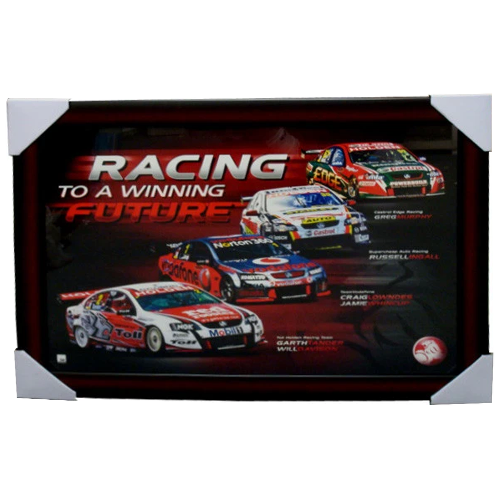 Holden Racing To a Winning Future Official Licensed Print Framed - 3897