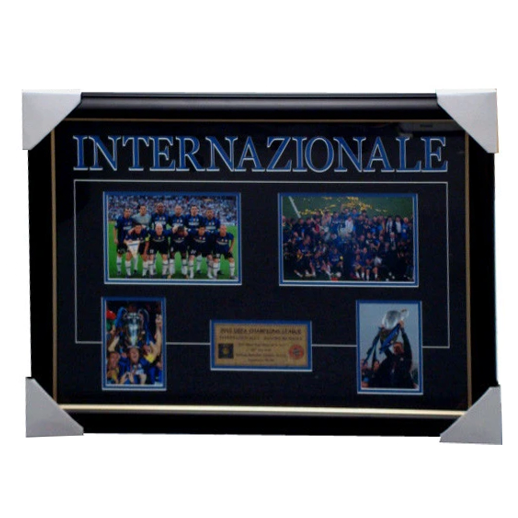 Inter Milan 2010 Champions League Photo Collage Framed - 2822