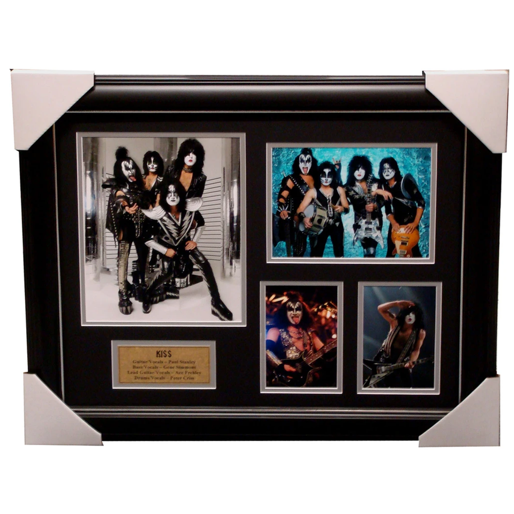 Kiss Band Photo Collage Framed - 4114