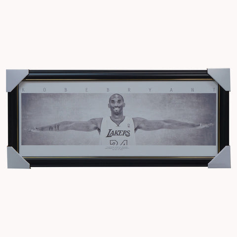 Kobe Bryant Los Angeles Lakers Mini Wings Print Framed - 4363