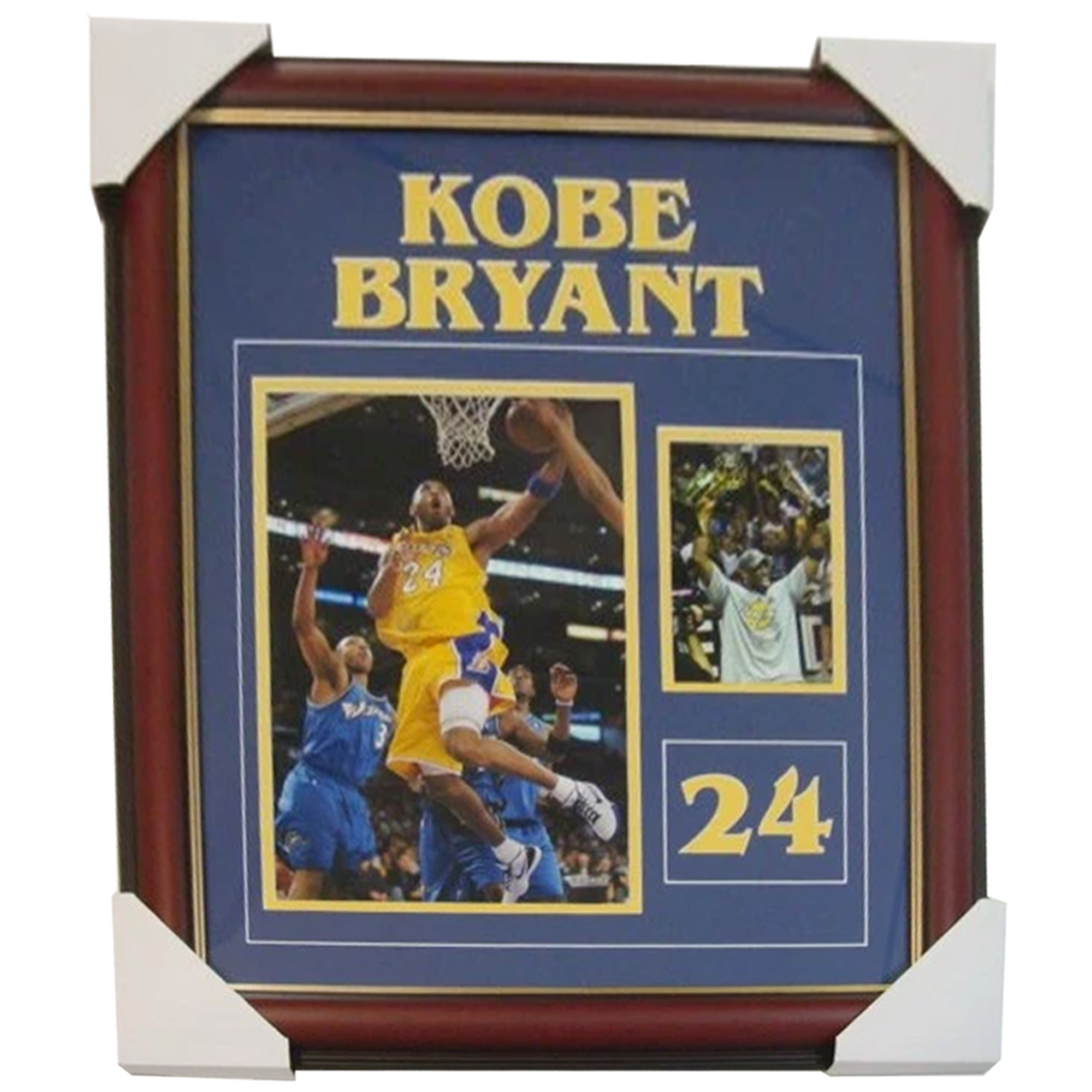 Kobe Bryant La Lakers 2009 Champions Photo Collage Framed - 2753