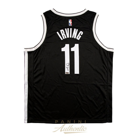 Kyrie Irving Signed Brooklyn Nets NBA Official Panini Authentics Jersey - 4601