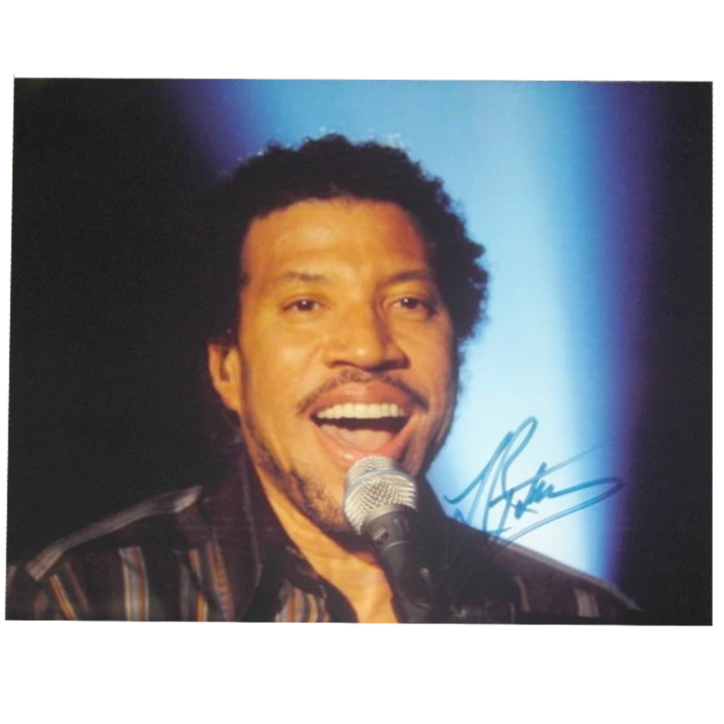 Lionel Ritchie Music Signed Photo Framed With Plaque - 2797