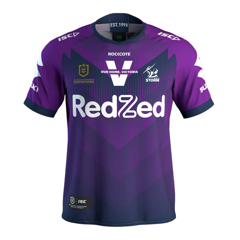 Melbourne Storm 2020 Premiers Official NRL Mens ISC Jerseys Brand New - 4689