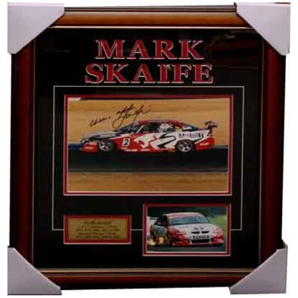 Mark Skaife Holden Signed Photo Collage Framed - 3286