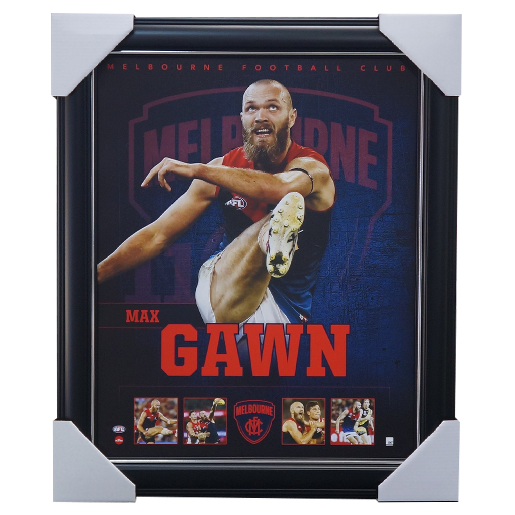 Max Gawn Melbourne Demons F.c. Official Licensed Afl Print Framed New - 3685