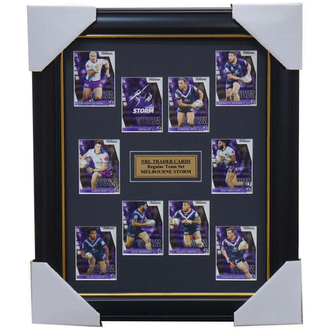Melbourne Storm 2019 Nrl Traders Card Set Framed Smith Addo-carr Munster - 3634