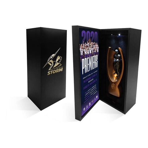 Melbourne Storm 2020 Nrl Premiers Replica Mini Trophy - 4681