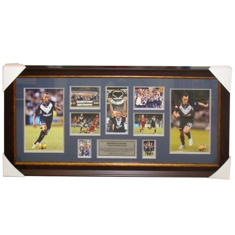 Melbourne Victory 2008/09 a-league Champions Photo Collage  - 2830