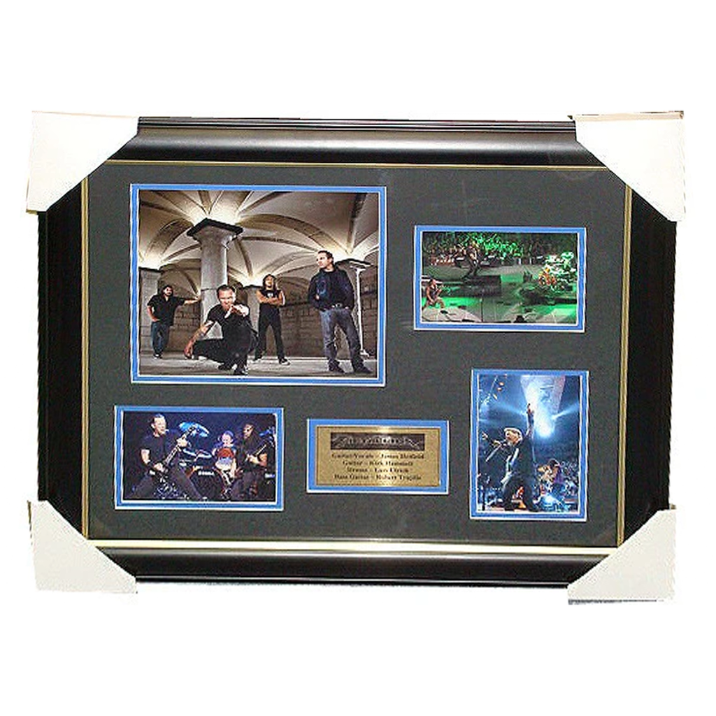 Metallica Photo Collage Framed with Plaque - 2801