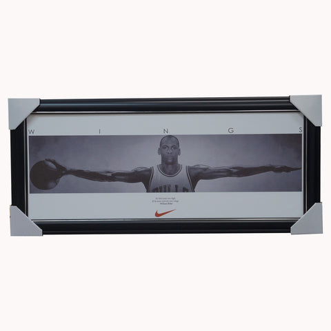 Michael Jordan Chicago Bulls Mini Wings Print Framed - 1614