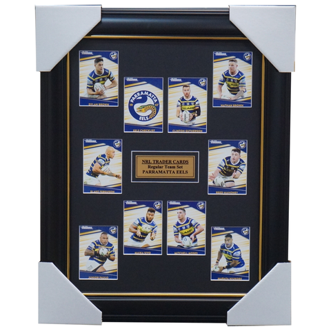 2020 Nrl Traders Cards Parramatta Eels Team Set Framed Gutherson Sivo Dylan-brown  - 4041