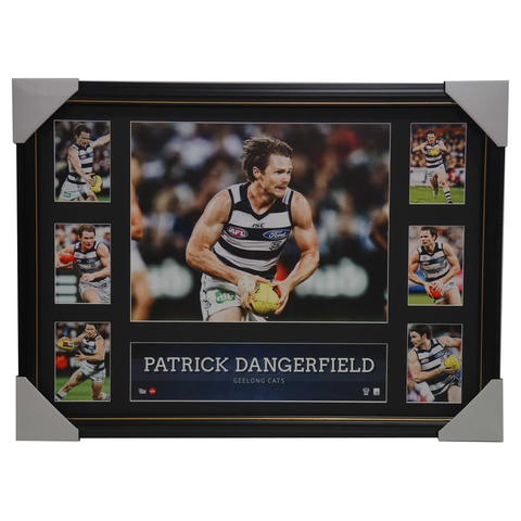 Patrick Dangerfield Geelong Cats OFFICIAL AFL MEMORABILIA Super Frame Collage - 2893